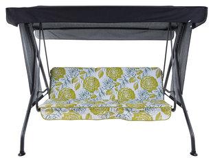 Комплект подушек для качелей Patio Latina A080-12PB, белый/зеленый