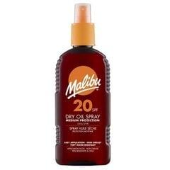 Солнцезащитное масло Malibu SPF 20 200 мл