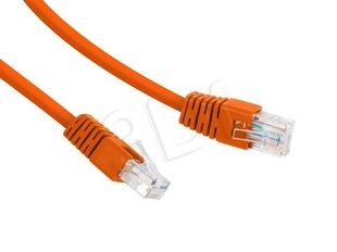 Gembird PP12-0.25M/O Orange patch cord cat. 5E molded strain