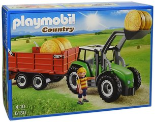 Kонструктор 6130 PLAYMOBIL® Country, Large Tractor with Trailer