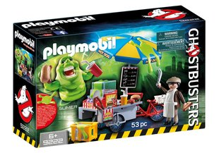 Конструктор 9222 PLAYMOBIL® Ghostbusters™ Slimer with Hot Dog Stand