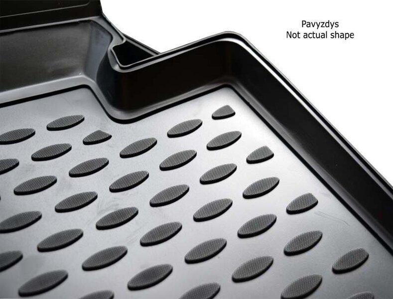 Kummimatid 3D OPEL Zafira 2011->, 7 seats 5 pcs. /L51028