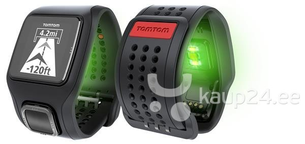 Pulsikell TomTom Runner Cardio (must)