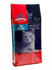 Kuivtoit kassidele Chicopee Adult Cat Natural 15 kg