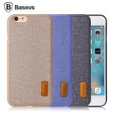 Kaitseümbris Baseus Grain Case iPhone6 Plus/iPhone6S Plus WIAPIPH6SP-BW03 sea blue
