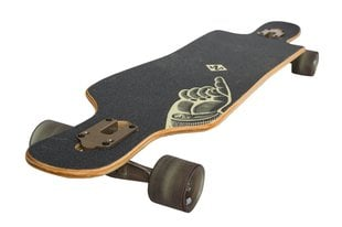 Rula Street Surfing Longboard Freeride Curve Drop Trough 39 The Finger