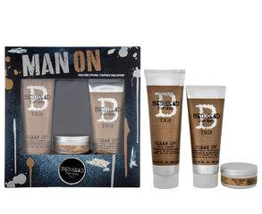 Komplekt Tigi Bed Head Men: šampoon 250ml + palsam 200 ml + juuksevaha 85g