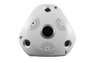 IP (WiFi) videokaamera Media-Tech MT4061 HP CLOUD IP CAM 360, valge