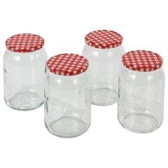 Стеклянная банка с крышкой Axentia 948 мл, 4 шт. цена и информация | Посуда и принадлежности для консервирования | kaup24.ee