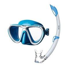 Детский комплект для ныряния Seac Bis Bella Color, голубой