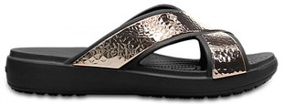 Женские шлепанцы Crocs™ Sloane Hammered Xstrp Slide