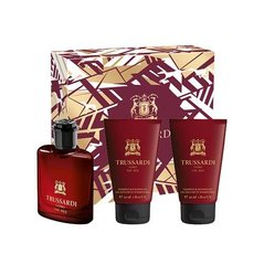 Komplekt Trussardi Uomo The Red: EDT meestele 30 ml + dušigeel 2x30 ml
