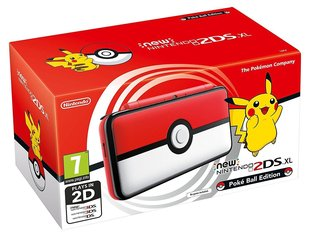 Mängukonsool Nintendo 2DS XL Limited Edition Pokéball 2209666