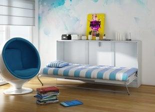 Transformeeritav voodi-kummut Roger, valge/hall