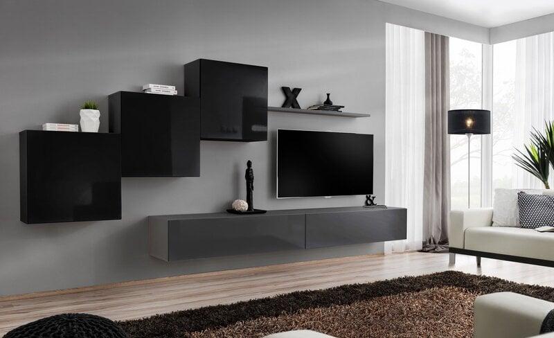Секция Switch X, черный/серый