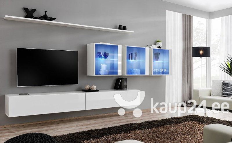 Sektsioon Switch XVII, valge hind ja info | Sektsioonid | kaup24.ee