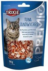 Maius kassidele Trixie Premio Tuna Sandwiches, 50 g