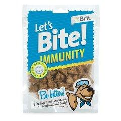 Maius koertele Brit Care Let's Bite Dog Immunity, 150 g