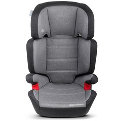 Автокресло KinderKraft Junior Plus, 15-36 кг, Серое
