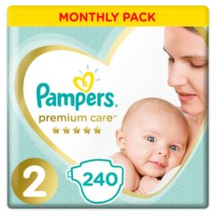 Mähkmed PAMPERS Premium Monthly Box suurus 2, 240 tk