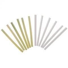 Liimipulgad Dedra 11.2 mm, 6 tk., valge