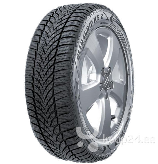 Goodyear Ultra Grip Ice 2 225/55R17 101 T XL цена и информация | Rehvid | kaup24.ee