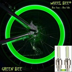 Jalgratta tuled Wheel Bee® LED Cycle Bee, roheline