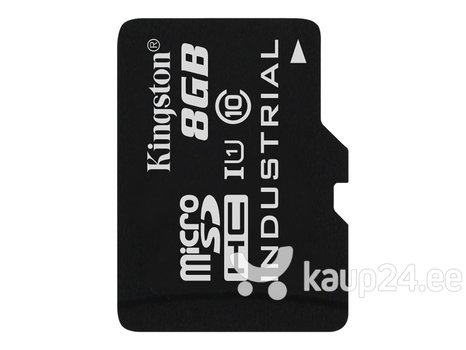 Mälukaart Kingston 8GB microSDHC UHS-I Industrial Temp Card Single Pack