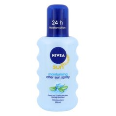 Päevitusjärgne kreem Nivea Sun After Moisturising With Aloe Vera 200 ml