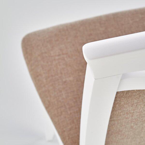 Комплект из 2 стульев Halmar Citrone, белый/коричневый