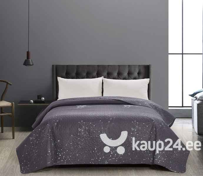 Kahepoolne voodikate Decoking Hypnosis Eagle Grey White, 240x260 cm hind