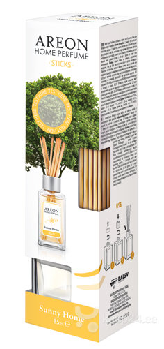 Lõhnapulgad HOME PERFUME SUNNY HOME, 85 ml