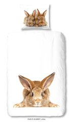 Laste voodipesukomplekt 2-osaline GOOD MORNING Rabbit, 140x200 cm