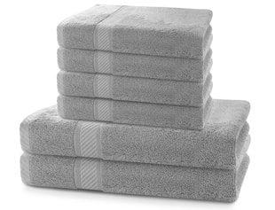 Rätikute komplekt DecoKing BAMBY 6 tk, silver   hind ja info | Rätikud | kaup24.ee