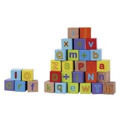 Puidust klotsid tähtedega Smiki hind ja info | Imikute mänguasjad | kaup24.ee
