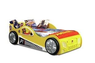 Voodi koos madratsiga Monza, kollane hind ja info | Lastevoodid | kaup24.ee