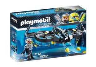 9253 PLAYMOBIL® Top Agents Mega droon