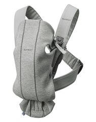 Сумка-кенгуру Babybjörn Mini Carrier, Light Grey