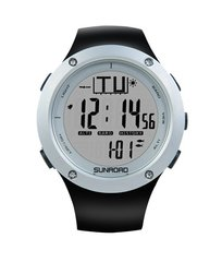 Nutikell Sunroad Fishing Watch must valge