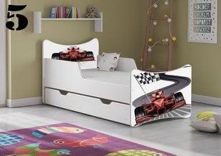 Voodi koos madratsi ja voodikastiga SMB Big 5, 180x90 cm