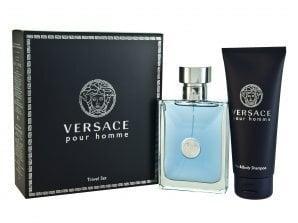 Komplekt Versace Pour Homme: EDT meestele 100 ml + dušigeel 100 ml hind ja info | Meeste lõhnad | kaup24.ee