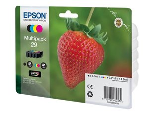 EPSON Multipack 4-colours 29 Claria Home Ink (Blister without alarm) цена и информация | EPSON Multipack 4-colours 29 Claria Home Ink (Blister without alarm) | kaup24.ee