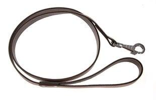 Nahast koerte jalutusrihm Amibelle, pruun, laius 1,8 cm, pikkus 120 cm