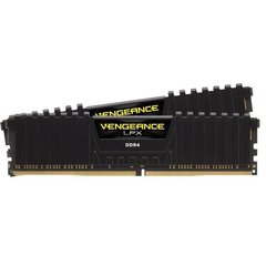 CORSAIR DDR4 2666MHz 8GB 2x4GB 288 DIMM Unbuffered 16-18-18-35 Vengeance LPX Black Heat spreader 1.2V XMP2.0
