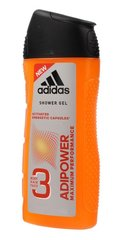 Dušigeel Adidas AdiPower 3in1 meestele 400 ml