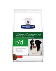 Kuivtoit koertele Hill's Prescription Diet r/d Canine, 4 kg