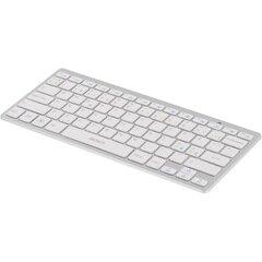 Klaviatuur DELTACO Bluetooth mini, hõbedane /TB-622-UK