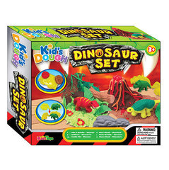 Комплект пластилина Kids Dough Dinozaur