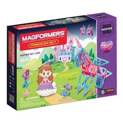 Särav magnetiline konstruktor Magformers Princess, 56-osaline