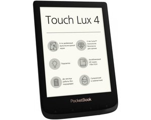 PocketBook Touch Lux 4, 6'', Must